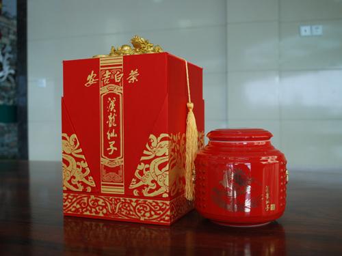 溪龙仙子安吉白茶礼盒装价格