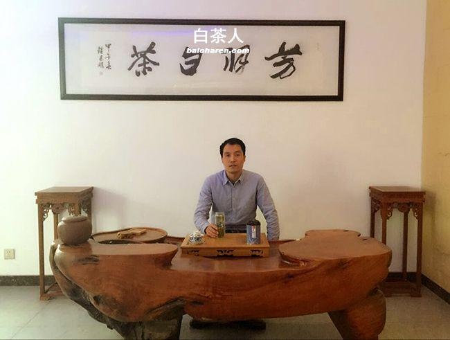 王龙 安吉白茶电商先行者
